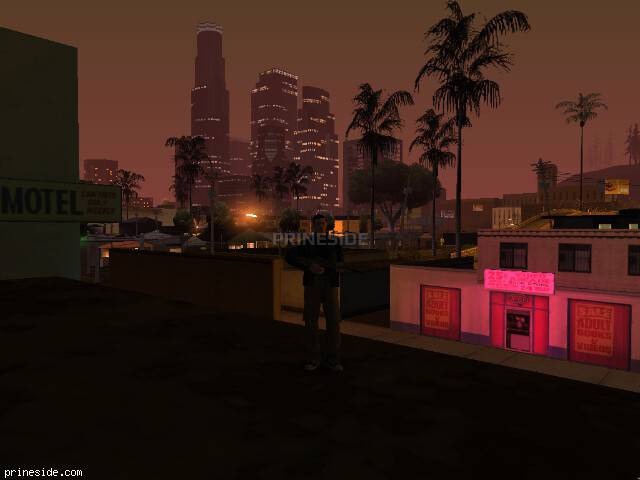 GTA San Andreas weather ID -101 at 2 hours