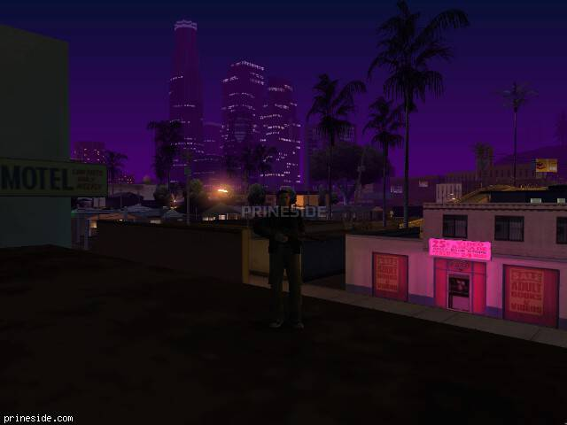 GTA San Andreas weather ID -101 at 5 hours