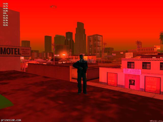 GTA San Andreas weather ID -101 at 6 hours