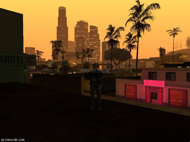 GTA San Andreas weather ID 412 at 0 hours