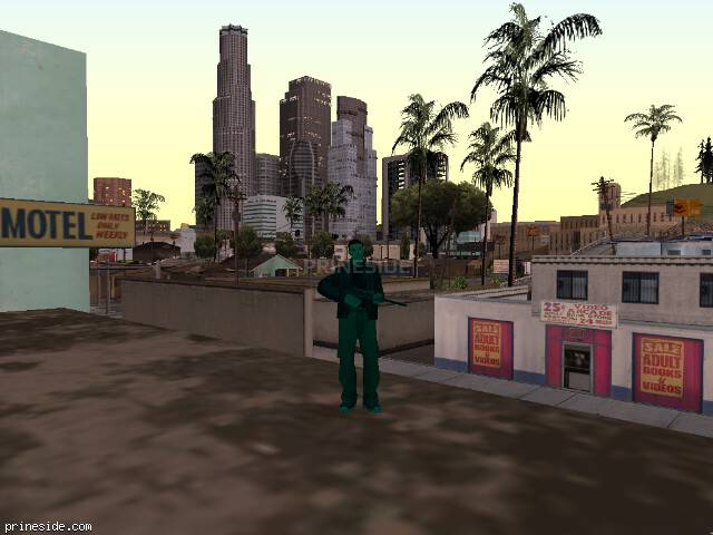 GTA San Andreas weather ID 412 at 20 hours