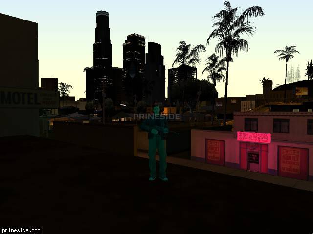 GTA San Andreas weather ID -1892 at 21 hours