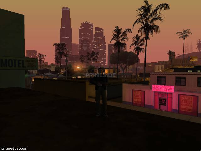 GTA San Andreas weather ID -1124 at 2 hours