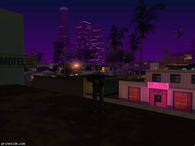 GTA San Andreas weather ID 924 at 5 hours