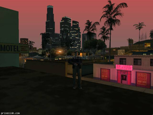 GTA San Andreas weather ID -98 at 23 hours