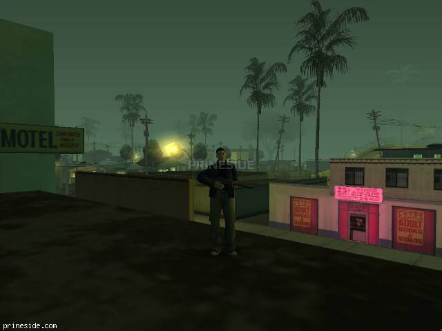GTA San Andreas weather ID 158 at 2 hours