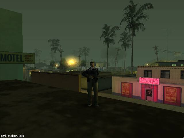 GTA San Andreas weather ID 158 at 5 hours
