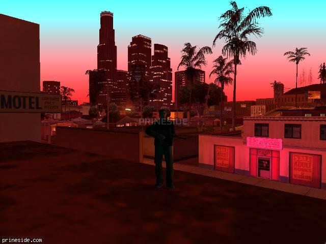 Просмотр погоды GTA San Andreas с ID -609 в 22 часов
