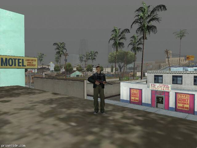 GTA San Andreas weather ID 16 at 11 hours