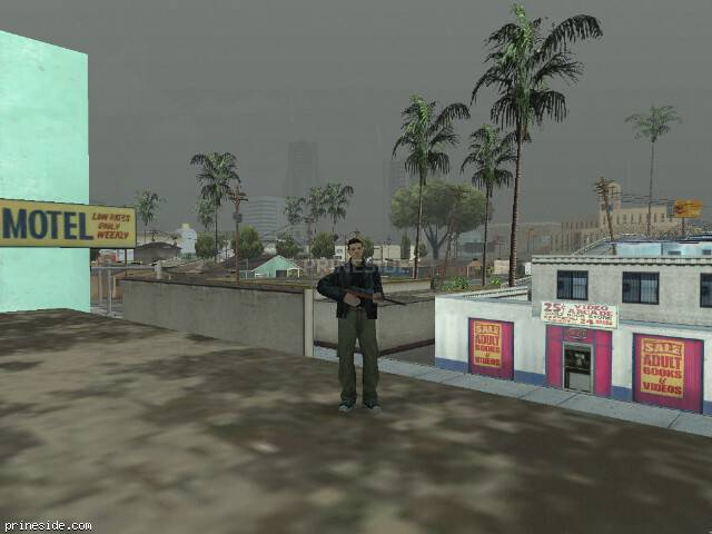GTA San Andreas weather ID 16 at 16 hours