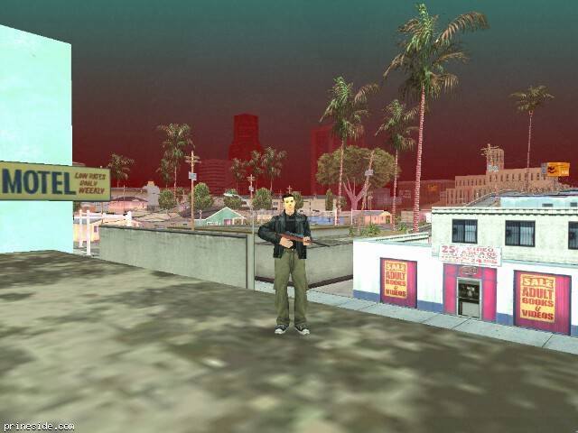 GTA San Andreas weather ID 16 at 20 hours