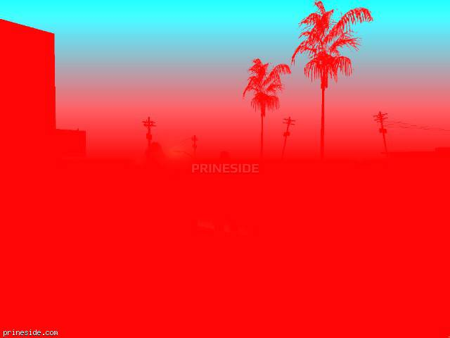 GTA San Andreas weather ID 160 at 22 hours