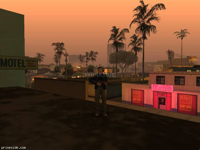 GTA San Andreas weather ID 161 at 0 hours