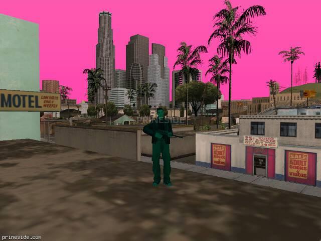 Просмотр погоды GTA San Andreas с ID 673 в 16 часов