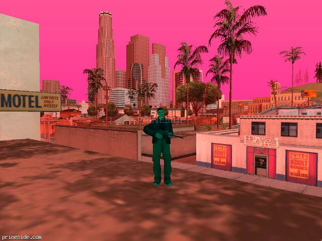 GTA San Andreas weather ID 417 at 18 hours