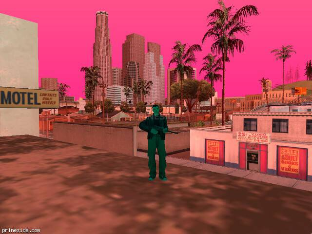 GTA San Andreas weather ID -607 at 19 hours