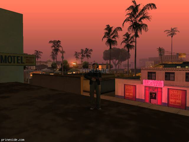 GTA San Andreas weather ID 417 at 1 hours