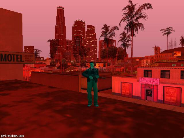 GTA San Andreas weather ID 161 at 21 hours