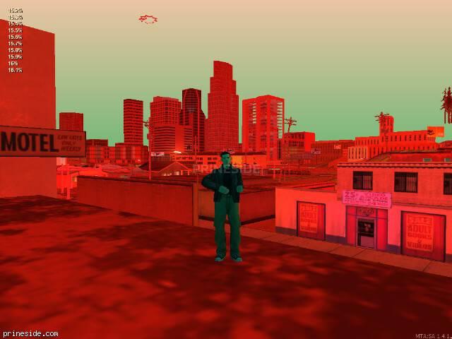 Просмотр погоды GTA San Andreas с ID 673 в 22 часов