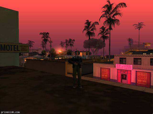 GTA San Andreas weather ID 417 at 2 hours