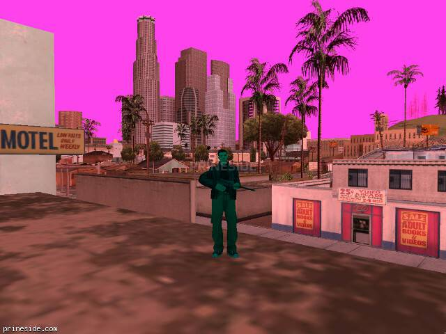 GTA San Andreas weather ID 162 at 13 hours
