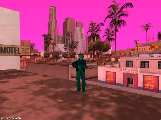 GTA San Andreas weather ID 418 at 16 hours