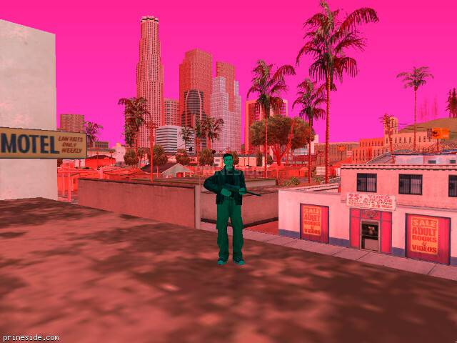 GTA San Andreas weather ID 162 at 19 hours