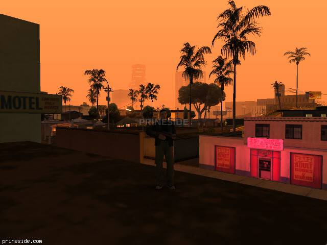 GTA San Andreas weather ID 162 at 1 hours