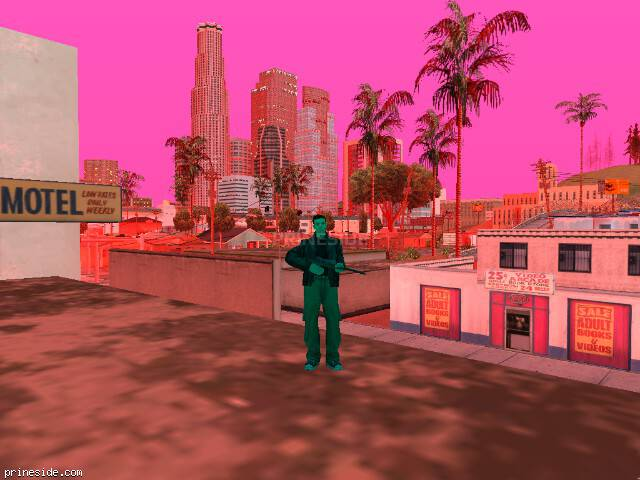 GTA San Andreas weather ID 162 at 20 hours