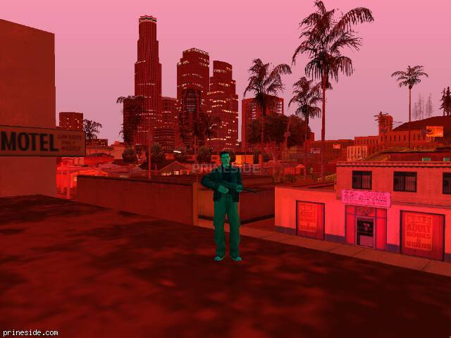 GTA San Andreas weather ID 162 at 21 hours