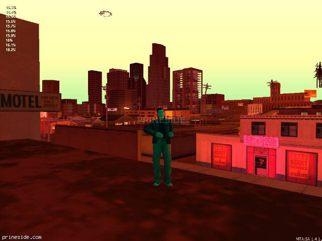 GTA San Andreas weather ID -94 at 22 hours