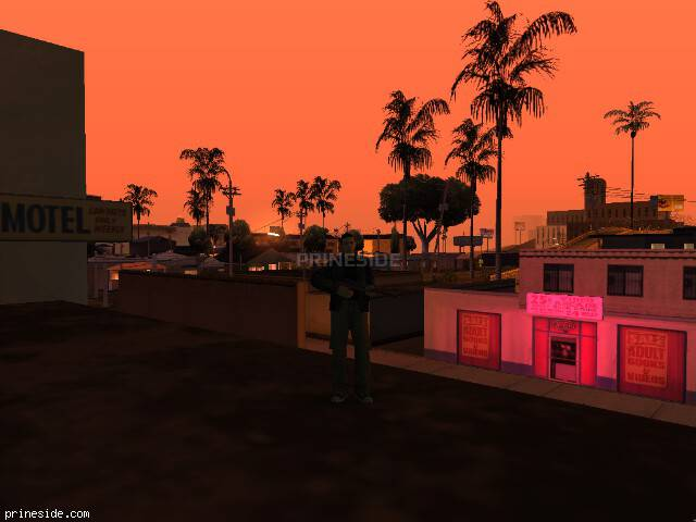 GTA San Andreas weather ID 162 at 2 hours