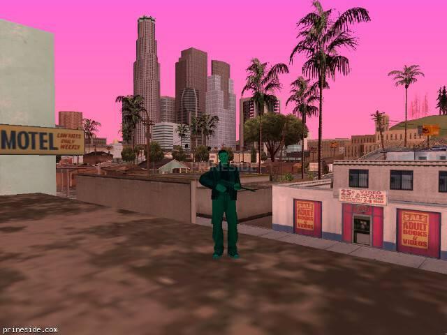 Просмотр погоды GTA San Andreas с ID 163 в 14 часов
