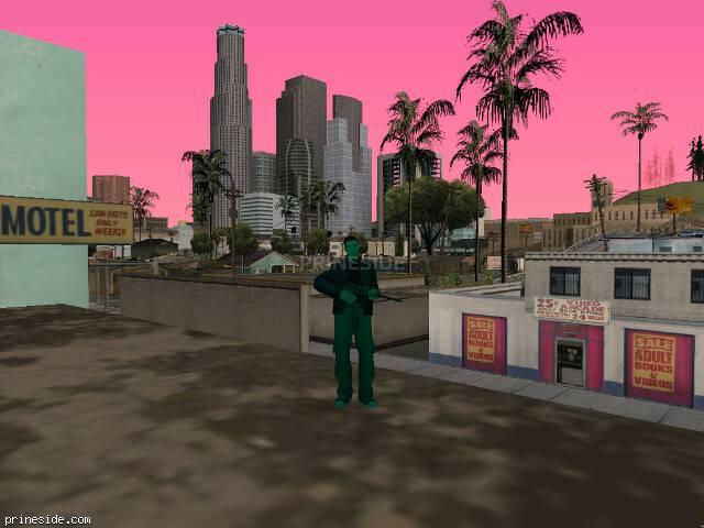 Просмотр погоды GTA San Andreas с ID 163 в 19 часов