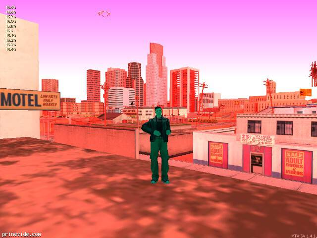 GTA San Andreas weather ID 164 at 12 hours