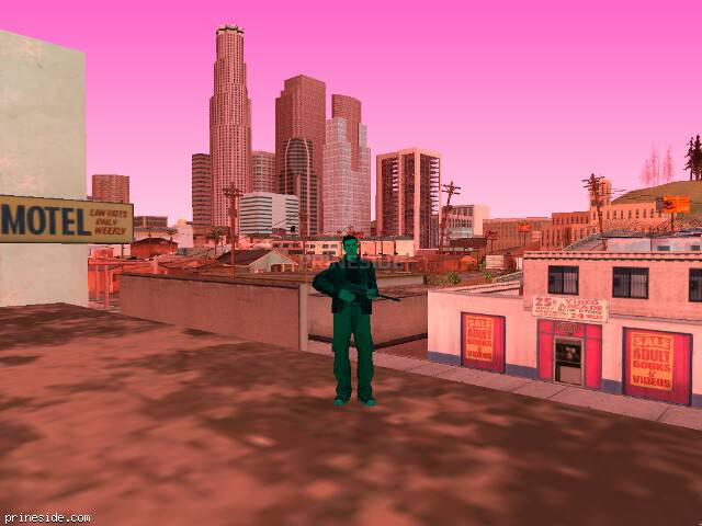GTA San Andreas weather ID 164 at 16 hours