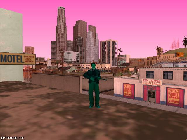 GTA San Andreas weather ID 164 at 17 hours
