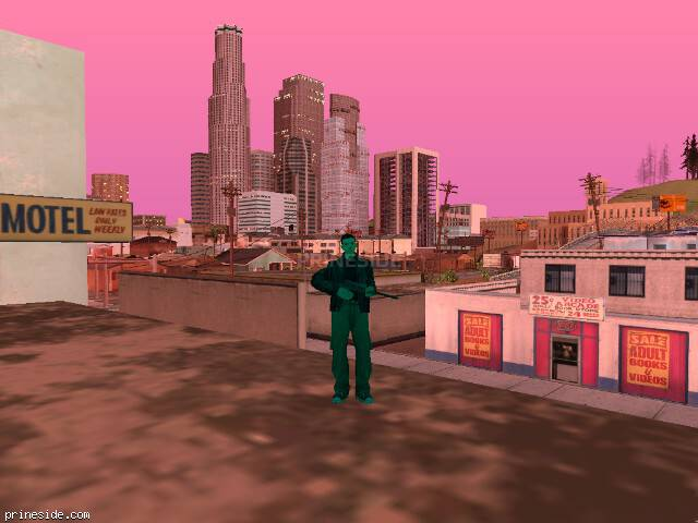 GTA San Andreas weather ID 164 at 20 hours