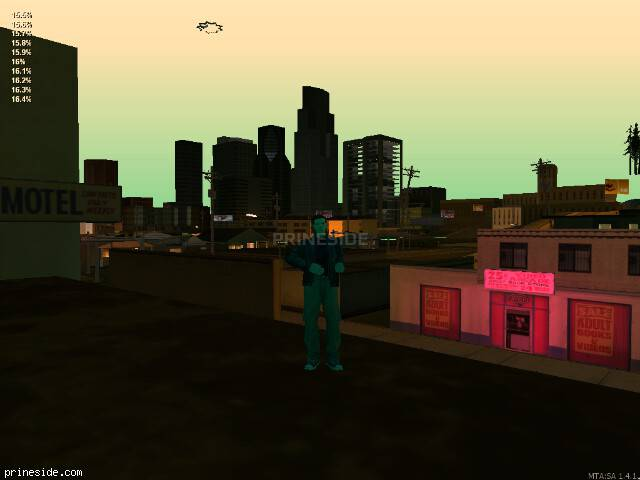 GTA San Andreas weather ID 164 at 22 hours