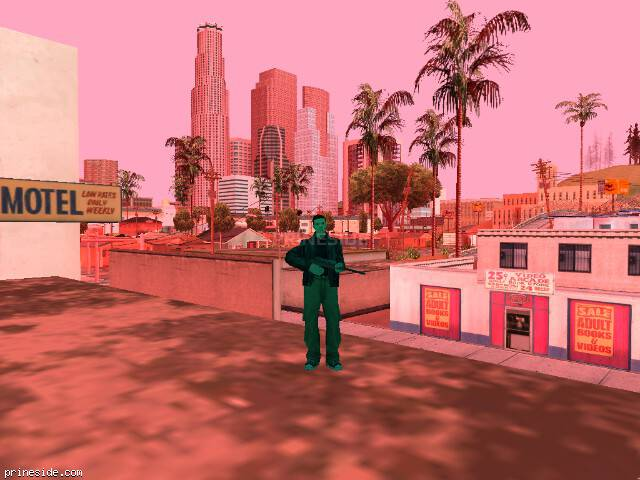 GTA San Andreas weather ID 165 at 19 hours