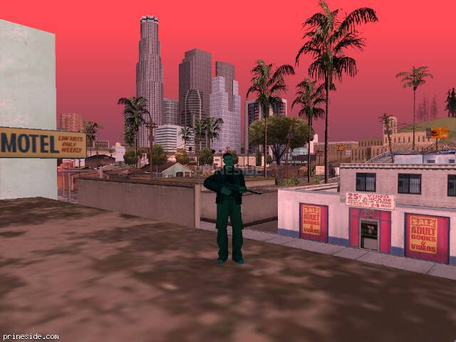 GTA San Andreas weather ID 165 at 9 hours