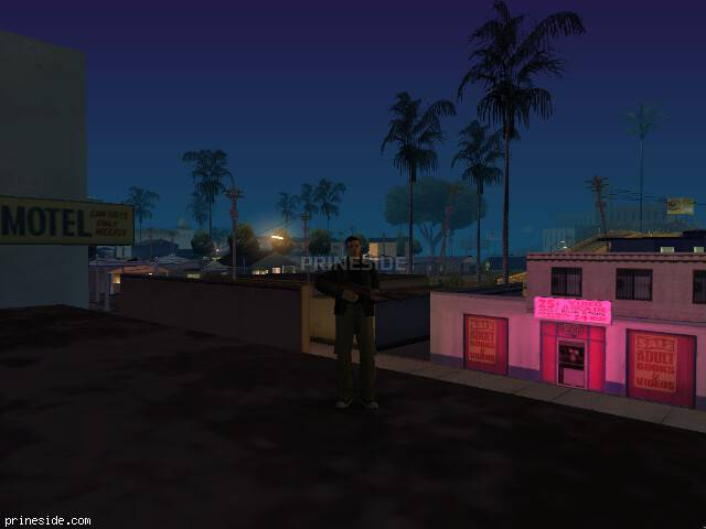 GTA San Andreas weather ID 166 at 0 hours