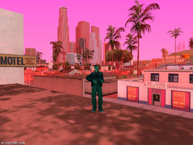 GTA San Andreas weather ID 166 at 16 hours