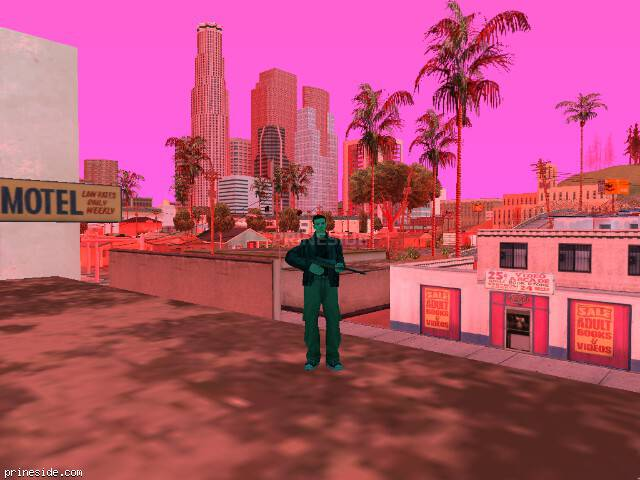 GTA San Andreas weather ID 166 at 19 hours