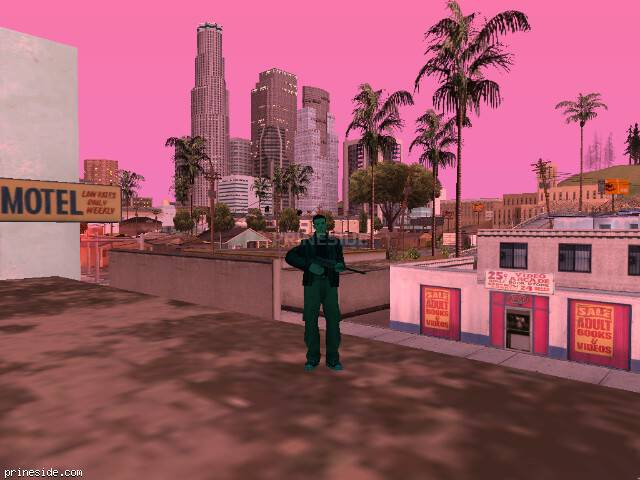 GTA San Andreas weather ID 166 at 20 hours