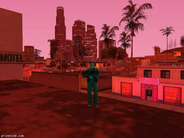 GTA San Andreas weather ID 1702 at 21 hours