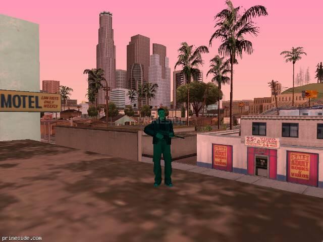 Просмотр погоды GTA San Andreas с ID 167 в 14 часов
