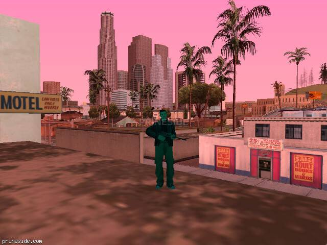 GTA San Andreas weather ID -857 at 15 hours