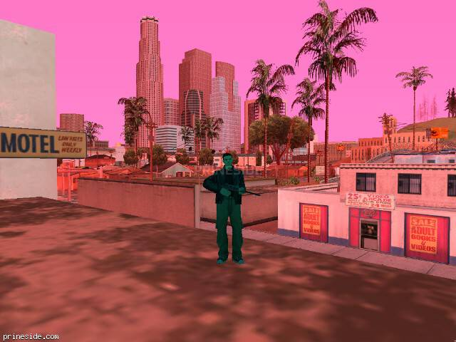 GTA San Andreas weather ID 167 at 17 hours