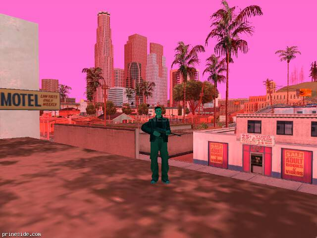 Просмотр погоды GTA San Andreas с ID 167 в 18 часов
